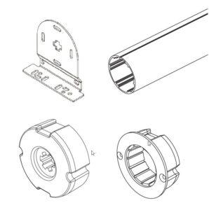 Xiaomi aqara roller shade 2