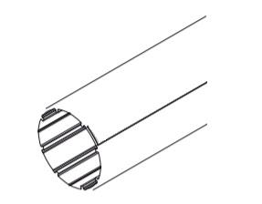 Труба 43 мм Aqara Roller