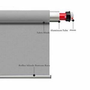 Автоматические рулонные шторы с электроприводом (проводное управление)3