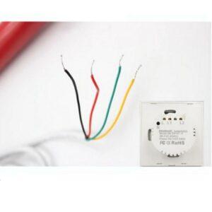 Автоматические рулонные шторы с электроприводом (проводное управление)5